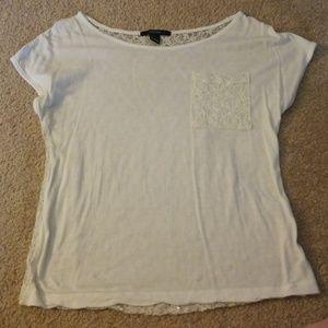 FOREVER 21 white shirt.